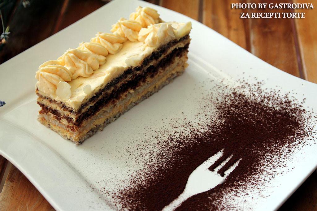 Kamelija torta recept