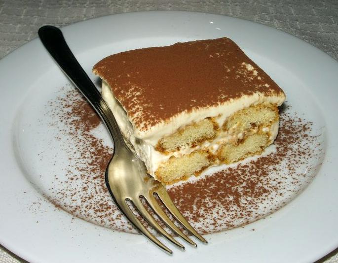 tiramisu kolac recept
