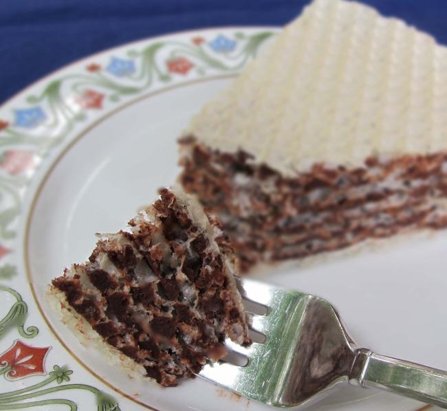 Torta sa napolitankama recept