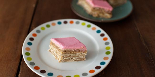 Rozen torta recept