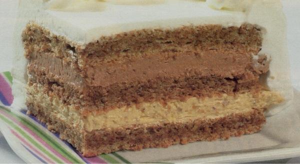 Interkontinental torta recept