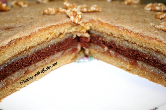 Posna rum torta recept - kako se pravi