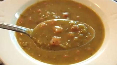 corba supa od graska - recept kako se pravi