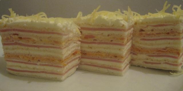 Slana rozen torta - recept kako se pravi