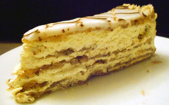 Esterhazi torta recept - kako se pravi