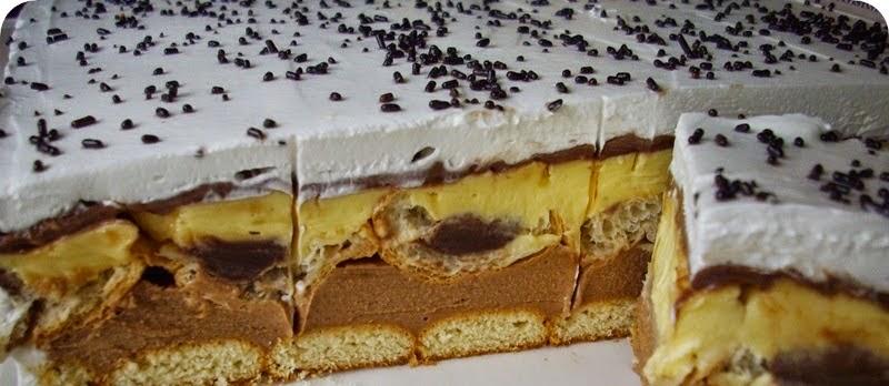 Kroasan torta recept - kako se pravi