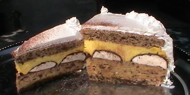 Mančmelou torta - recept kako se pravi