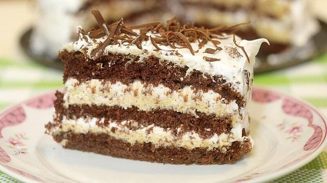 Torta sa gotovim korama - recept kako se pravi