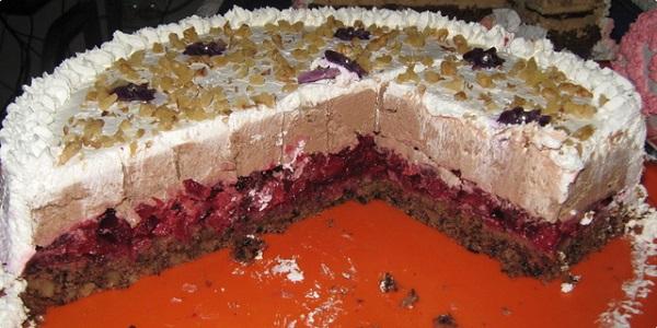 Posna torta sa višnjama - recepti